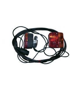 Taillight with wiring kit
