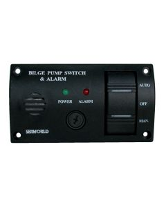 Switch ON - OFF - AUTO + buzzer Dim. 115 x 65 mm
