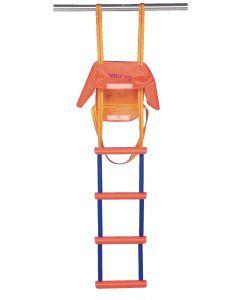 Emergency ladder standard 4 rungs