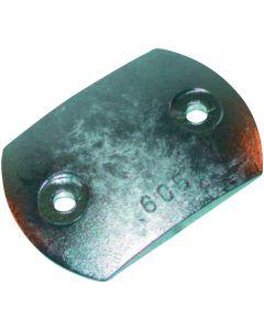 RENAULT-NANNI motor compatible anode Rudder plate