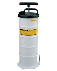 Manual draining pump