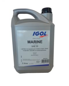 IGOL MARINE SAE30 oil