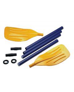 Dismountable plastic oar  1,14 m, the pair